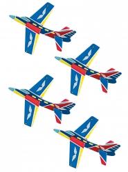 8 mini aerei colorati
