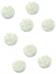 8 palline rimbalzanti iridescenti