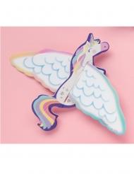 8 unicorni volanti di carta