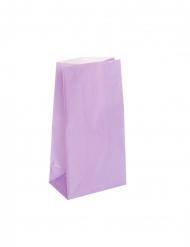 12 sacchetti regalo di carta color lavanda