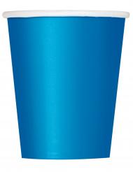 14 bicchieri in cartone blu