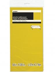 Tovaglia in plastica rettangolare gialla
