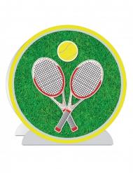 Centrotavola 3D tennis