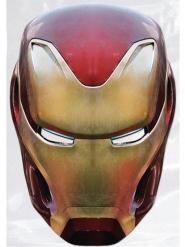 Maschera in cartone Iron Man™ Avengers Infinity War™ adulto
