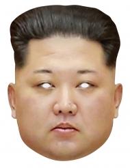 Maschera in cartone Kim Jong Un