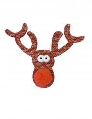 2 mini decorazioni in maglia renne