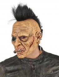 Maschera da punk con cresta per adulto