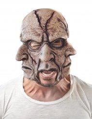 Maschera 3 facce in lattice per adulto