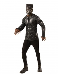 T-shirt e maschera da Black Panther™ Avengers™ per adulto