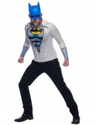 Maglia con maschera da Batman™ per adulto