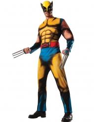 Travestimento deluxe con muscoli da Wolverine X-Men™ per adulto