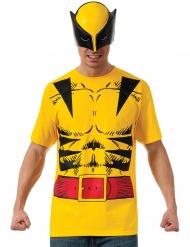 T-shirt con maschera da Wolverine™ per adulto