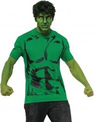 T-shirt con parrucca da Hulk™ per adulto