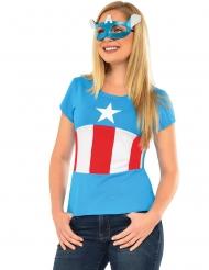 T-shirt e maschera da American Dream™ per donna