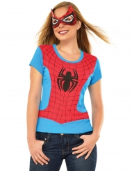 T-shirt e maschera da Spidergirl™ per donna ada26d17d0b