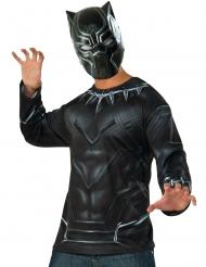 T-shirt e maschera da Black Panther Capitan America Civil War™ per adulto
