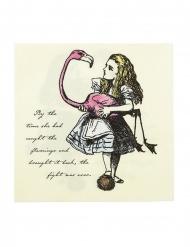 20 tovaglioli di carta Alice nel paese immaginario