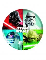 Piatto in plastica rigida Star Wars™ 21 cm