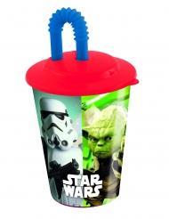 Bicchiere in plastica con cannuccia Star Wars™