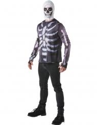 Maglia e maschera da Skull Trooper di Fortnite™ per adulto