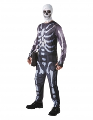 Travestimento da Skull Trooper di Fornite™ per adulto