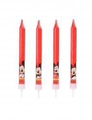 4 candeline di compleanno rosse Topolino™