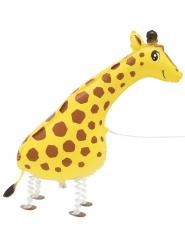 Palloncino alluminio giraffa