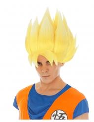 Parrucca per adulti bionda Goku Saiyan Dragon Ball Z™