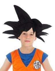 Parrucca capelli neri Goku Saiyan Dragon Ball Z™ bambino