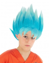 Parrucca di colore blu Goku Saiyan Super Dragon Ball Z™ bambino
