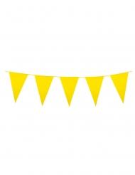 Ghirlanda con mini bandierine gialle