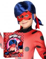 Cofanetto parrucca e maschera Ladybug™ bambino