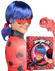 Cofanetto parrucca e maschera Ladybug™ adulto