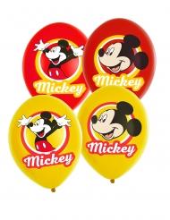 6 palloncini gialli e rossi di Topolino™