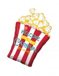 Palloncino alluminio scatola di popcorn