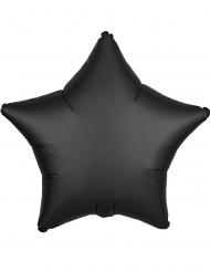 Palloncino alluminio stella nera