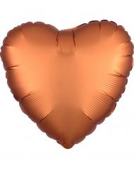 Palloncino alluminio cuore color rame