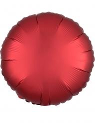 Palloncino alluminio rotondo rosso