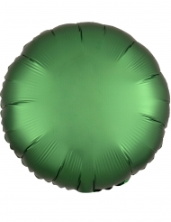 Palloncino alluminio rotondo verde smeraldo