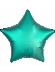 Palloncino alluminio stella verde menta