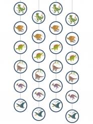 4 sospensioni grandi dinosauri