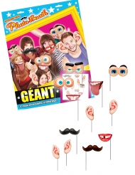 Kit photobooth 12 accessori giganti