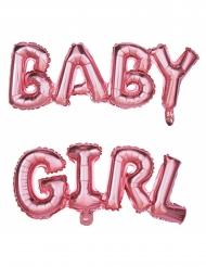 Palloncini in alluminio rosa Baby Girl