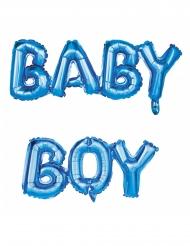 Palloncini in alluminio blu Baby Boy