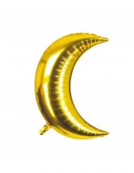 Palloncino in alluminio luna dorata