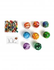 Pallina ultra rimbalzante colorata