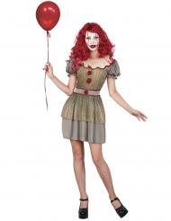 Costume clown psicopatico donna