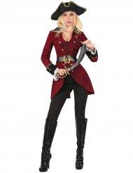 Costume con giacca pirata da donna