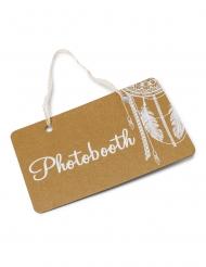 Pannello in cartone Photobooth con pizzo
