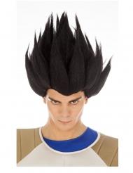 Parrucca di Vegeta Dragon Ball™ nera per adulto